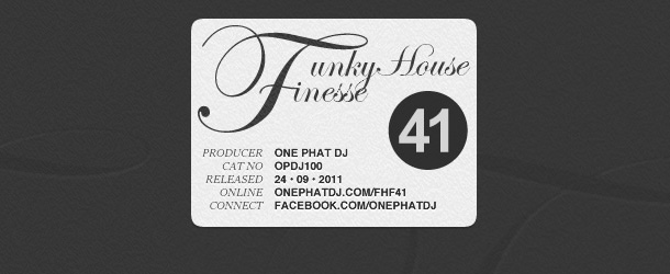 Funky House Finesse 41