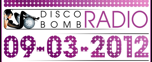 Disco Bomb Radio Show 09-03-12 with Dirty Freek, Frater & Stent, Audio Jacker