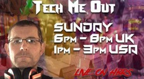 Tech me Out #028 Live on HBRS 6th Jan.2019 – DJ Wino